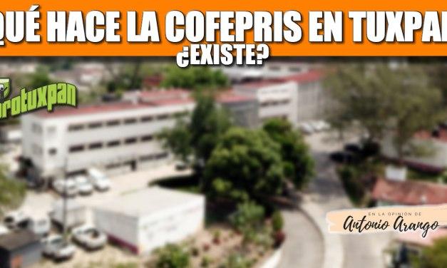 ¿Que hace la COFEPRIS en Tuxpan?