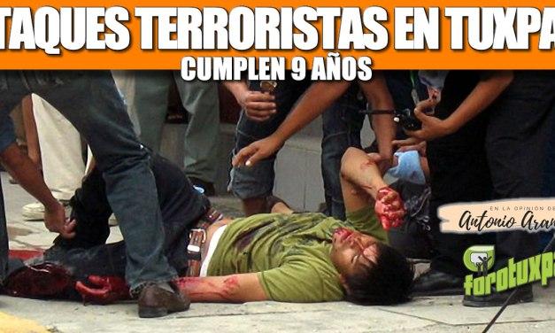 ATAQUES TERRORISTAS EN TUXPAN CUMPLEN 9 AÑOS