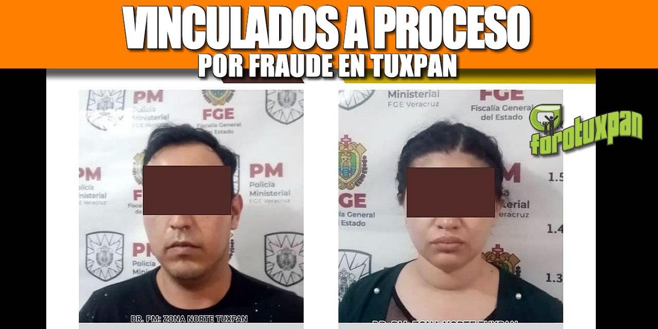 VINCULADOS A PROCESO POR FRAUDE EN TUXPAN