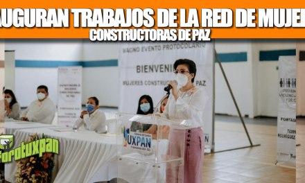 GOBIERNO DE TUXPAN INAUGURA LOS TRABAJOS DE LA RED DE MUJERES CONSTRUCTORAS DE PAZ
