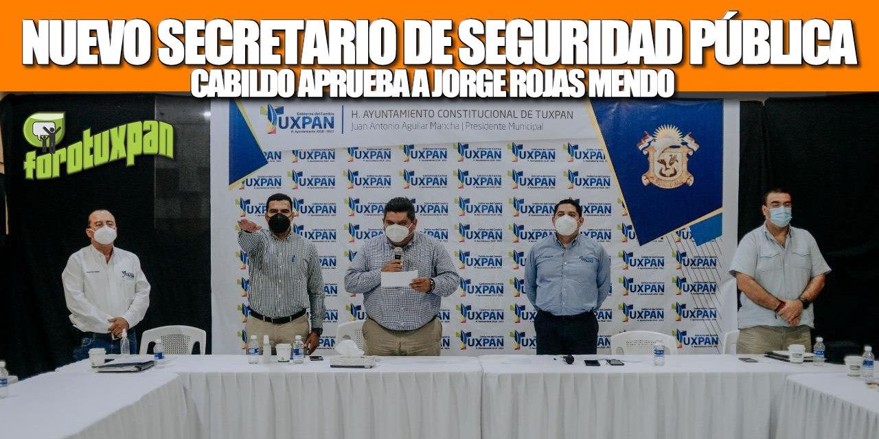 CABILDO APRUEBA NOMBRAMIENTO DEL NUEVO SECRETARIO DE SEGURIDAD PÚBLICA MUNICIPAL