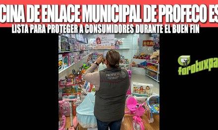 OFICINA DE ENLACE MUNICIPAL DE PROFECO ESTÁ LISTA PARA PROTEGER A CONSUMIDORES DURANTE EL BUEN FIN