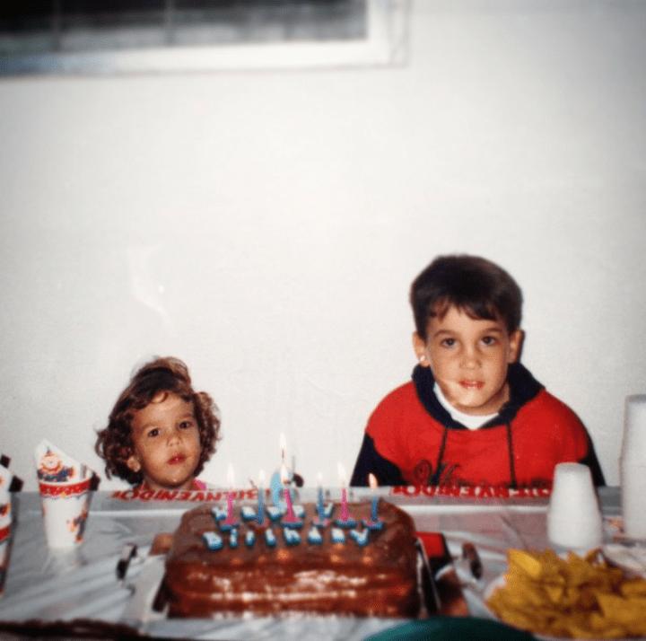 Los hermanos Andreutti, Victoria y Ricardo
