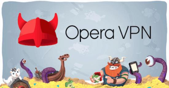 Opera Free VPN For PC