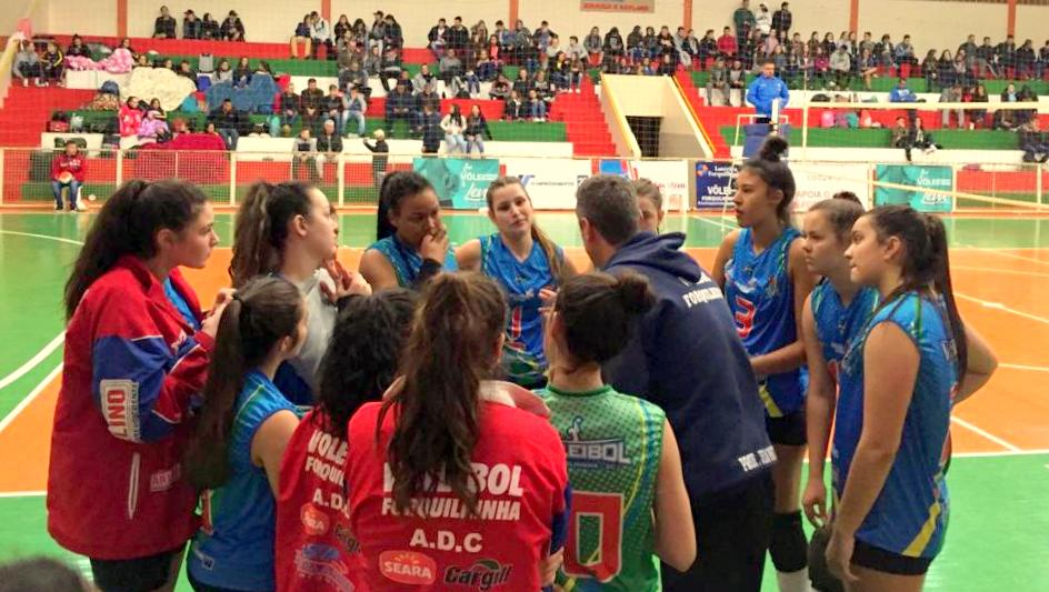 Forquilhinha é o Sul catarinense na final do Campeonato Estadual de Vôlei - Forquilhinha Notícias