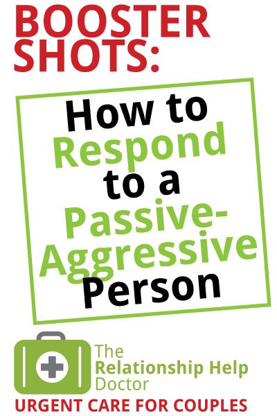 passive-aggressive people