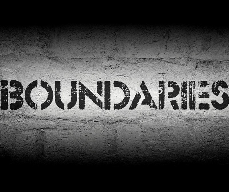 are you setting boundaries ? Now is a good time to start.