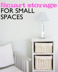 Surprise Storage Ideas for Small Spaces Part 4: Bedroom/Closet