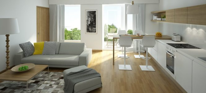 4 Furniture Layout Floor Plans For A Small Apartment Living Room