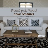 adding color to neutral living room | www.myfamilyliving.com