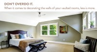 9 Design & Decor Ideas for Apartments with Vaulted Ceilings