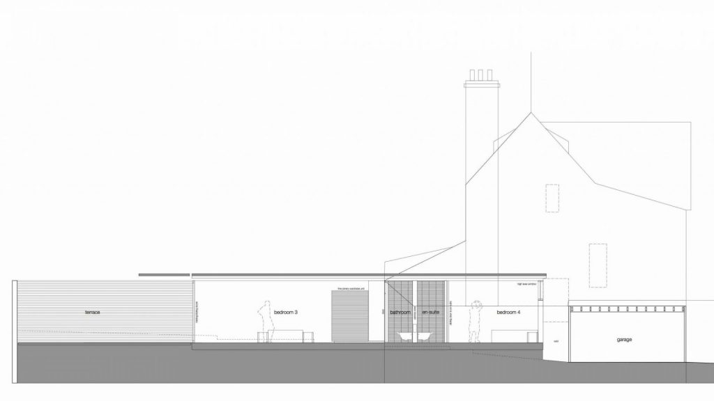 A garden pavilion has been approved to a detached house in Highgate, North London.