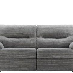 Grey Fabric Sofa Uk Dwell Covers Washington Collectio Forrest Furnishing 3 Seat