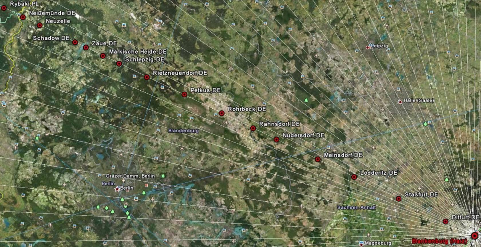 Andere Auffallige Uberregionale Linien Des Blankenburgsystems