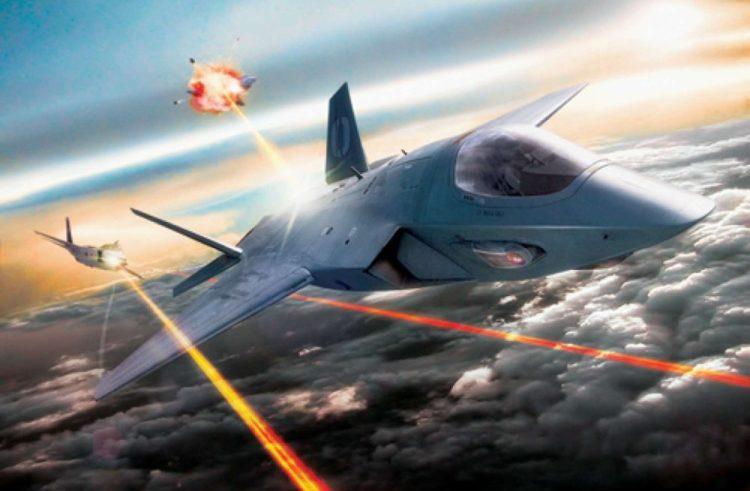 Next-gen laservåben på kampfly