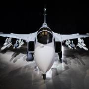 Saab's nye Gripen E 'smart fighter' kampfly