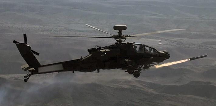 MBDA affyrer Brimstone missiler fra Apache Helikopter