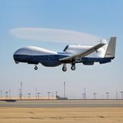 U.S. Navy tester MQ-4C Triton drone