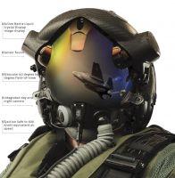 Thales scorpion HMSD system hjelm