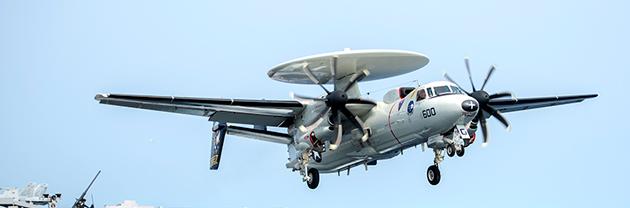Northrop Grumman rekognosceringsfly overvågningsfly E-2D Hawkeye