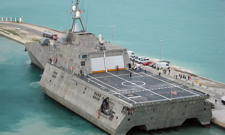 Amerikansk flåde accepterer nye Lockheed kampskibe