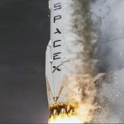 SpaceX Falcon 9 raket eksploderer på Cape Canaveral