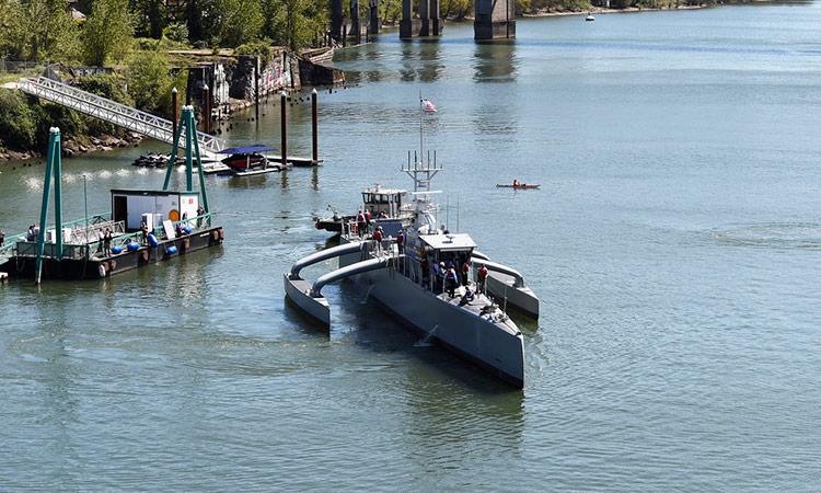 Leidos begynder test af ACTUV Sea Hunter drone