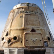 Succesfuld hjemtagning af SpaceX rumkapsel