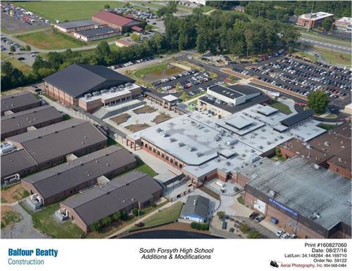 School South High Demographics Forsyth