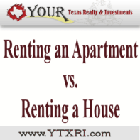 Renting An Apartment vs Renting A House in Fort Worth