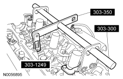 Ford Taurus Service Manual: Disassembly and Assembly of