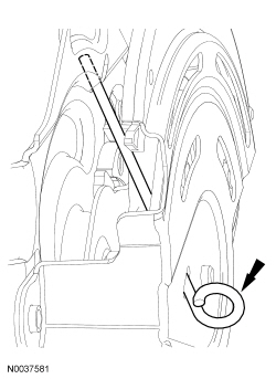 Ford Taurus Service Manual: Parking Brake and Actuation