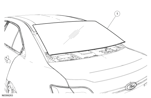 Ford Taurus Service Manual: Removal and Installation