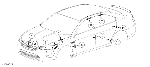 Ford Taurus Service Manual: Specifications, Description
