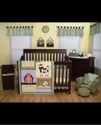 Baby Barnyard Crib Bedding Set