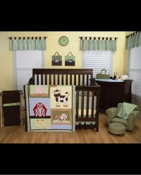 Baby Barnyard Crib Bedding Set - 4 Piece - Fort Brands