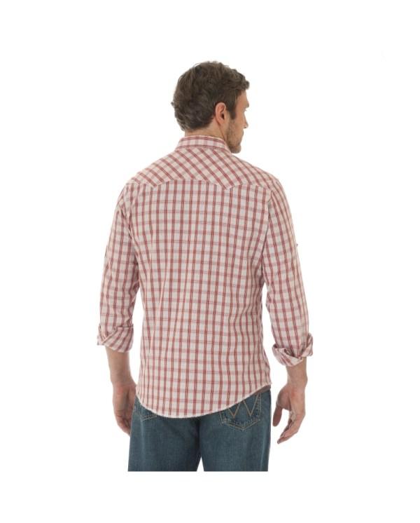 Wrangler Men' Long Sleeve Snap Front Shirt - Fort Brands
