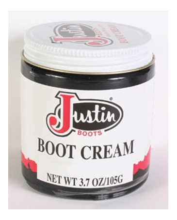 Justin Brand Black Boot Cream 37 oz Fort Brands