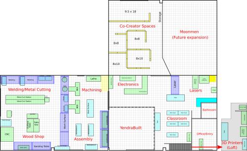 small resolution of layout of all three creator hub units