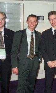 Дмитрий Хижинский (Forte-IT), Игорь Чиж (CompTek) , Алексей Шестаков (NOVAVOX)