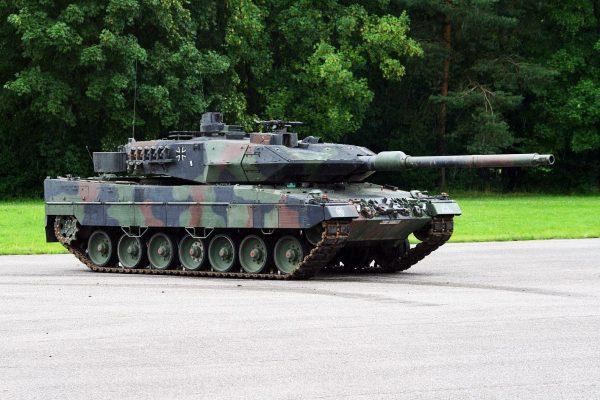 Tanque Leopard 2a6 - Terrestres Forte