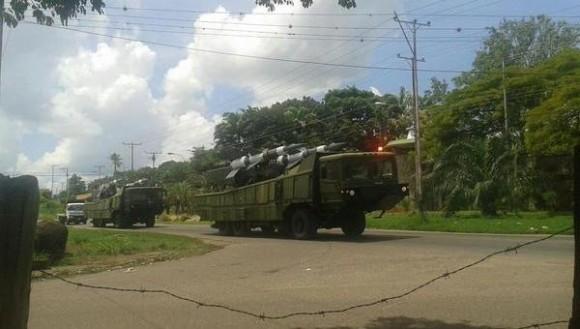 Mísseis AAe Venezuela na fronteira - 2