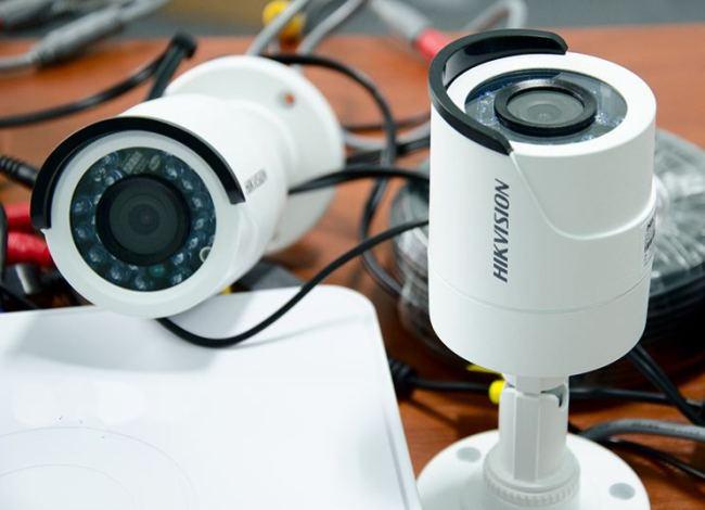Система видеонаблюдения на 2 камеры