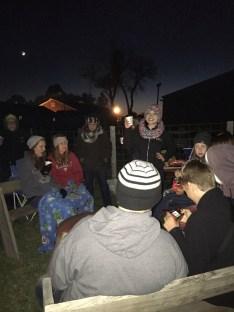 Campfire Night at Schuster's