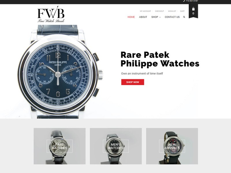 Fine Watch Bank