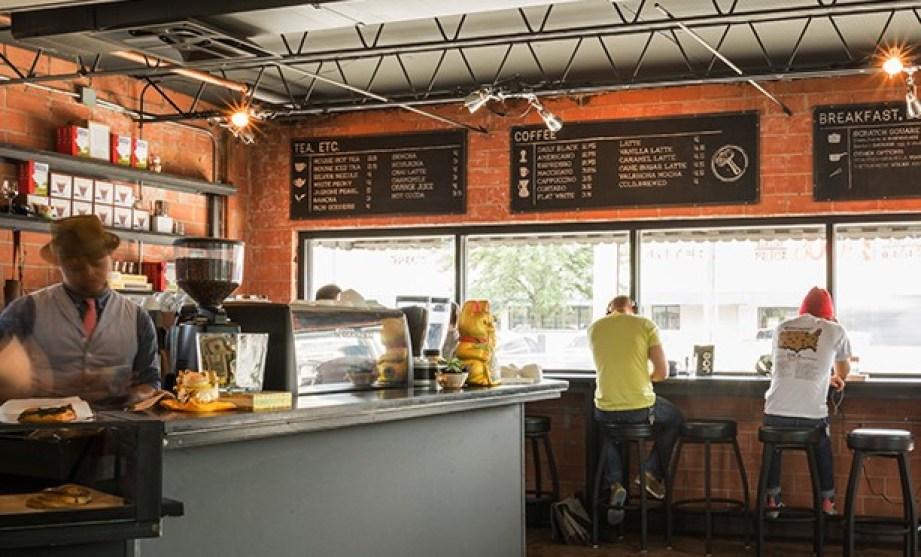 Blacksmith Coffee Houston TX