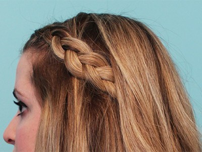 Braided Half Up Hairstyle | For the Glitz