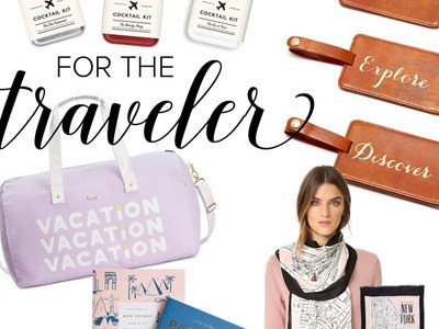 For the Traveler | Gift Guides 2016 | For the Glitz