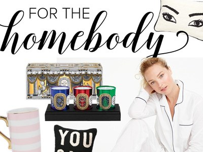 For the Homebody | Gift Guides 2016 | For the Glitz