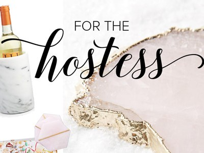 For the Hostess | Gift Guides 2016 | For the Glitz